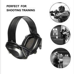 Leshp Тактический Стрельба гарнитура TAC 6S Шум шумоподавления Спорт Охота электронный Стрельба наушники защиты органов слуха