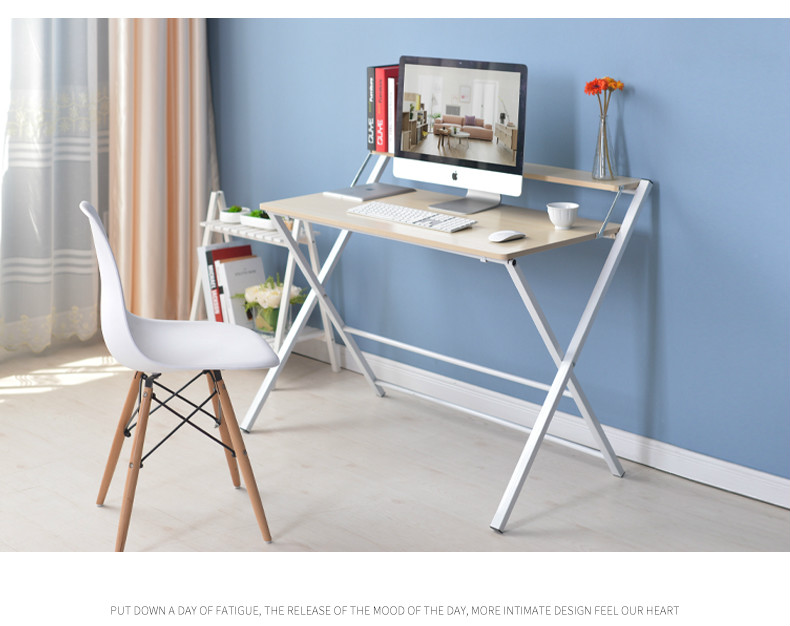 Simple pliage bureau d ordinateur portable bureau moderne sidebed
