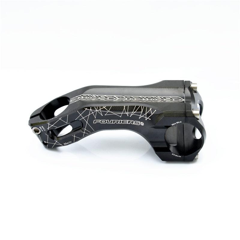 Fouriers Bicycle handlebars CNC manufacturing of aluminium alloy High 28mm 31.8x28.6mm riser Titanium alloy screw 17/25 degreeFouriers Bicycle handlebars CNC manufacturing of aluminium alloy High 28mm 31.8x28.6mm riser Titanium alloy screw 17/25 degree