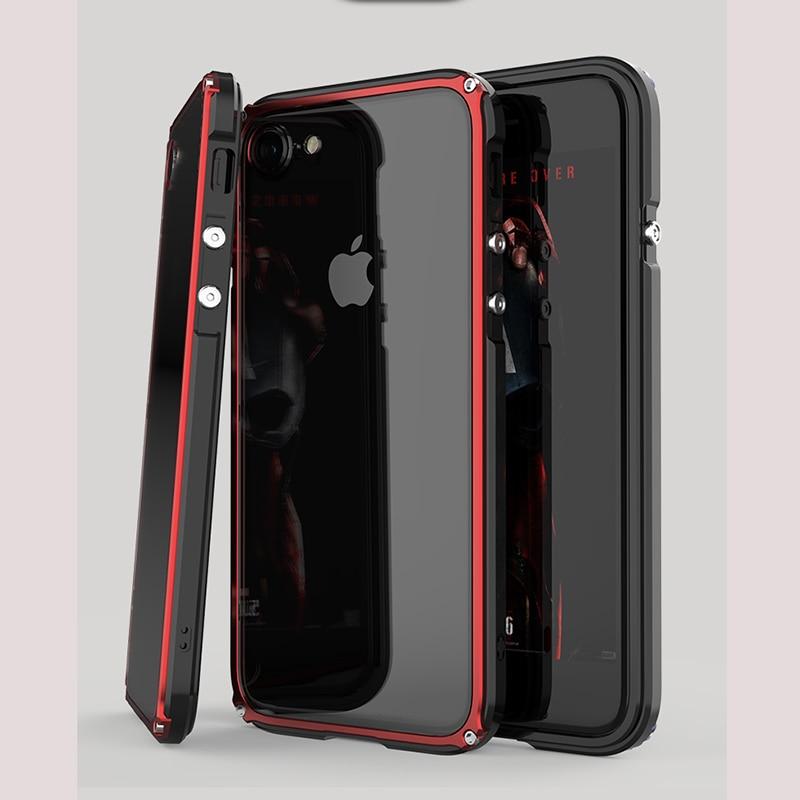 Para iphone 6s teléfono cubierta Metal aluminio marco cubierta para ...