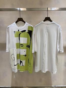 19ss Owen seak Men T Shirt 100%Cotton Gothic Style Men's Clothing Tops Tees Summer Women Tees White T Shirt Size XL