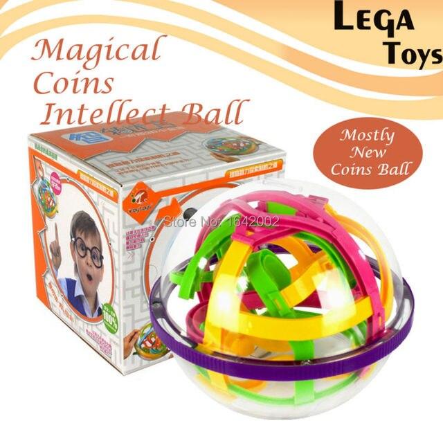 3d Magische Münze Intellekt Maze Ball Kinder Erstaunliche Balance