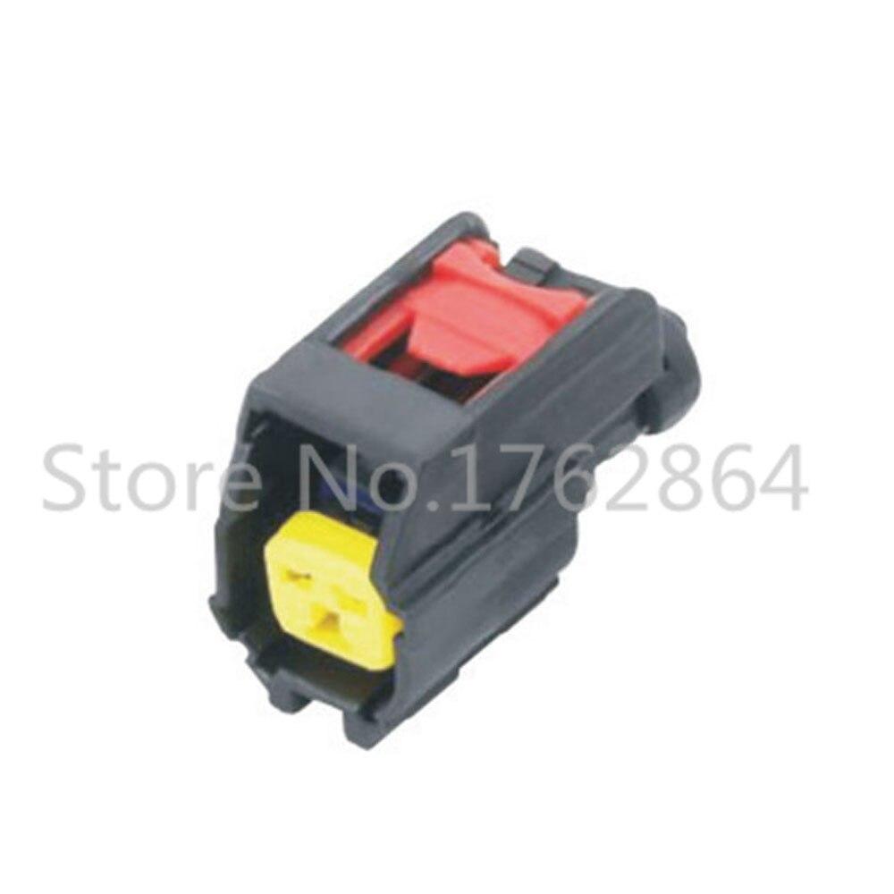 5 UNIDS conector coche conector 2 pin inyector Electrónico DJ7026Y-1.5-21
