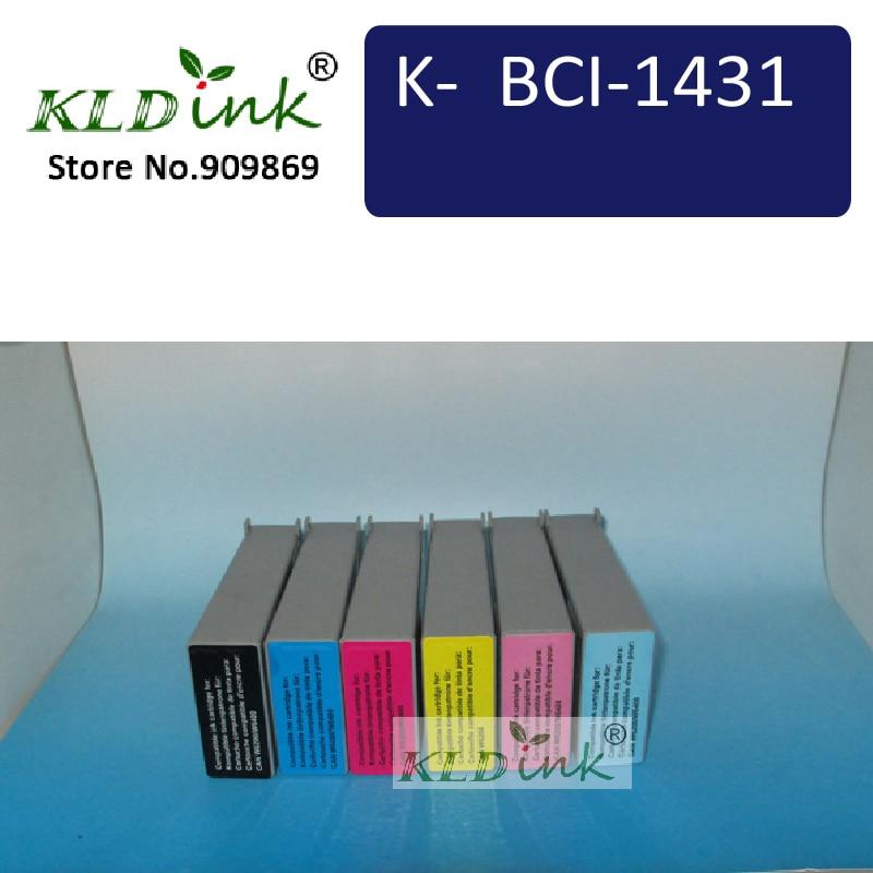 6 шт. bci-1431 Картриджи с чернилами для W6200 и w6400 серии