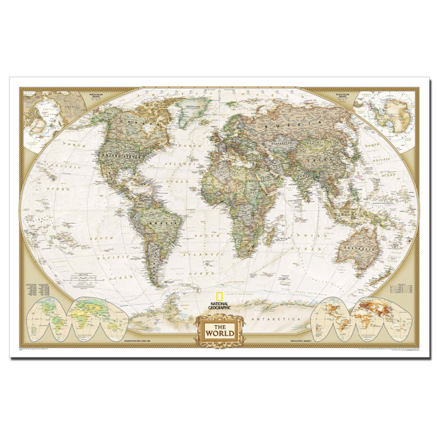 The world map art poster canvas cloth fabric print for home decor the world map art poster canvas cloth fabric print for home decor wall art poster gumiabroncs Images