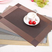 Tableware pad Anti-Skid European Cup anti-ironing fabric environmental protection PVC easy to clean a variety of options