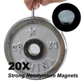 NEW 20 Pcs Rare-Earth Neodymium Magnets For DIY 8mm x 1mm