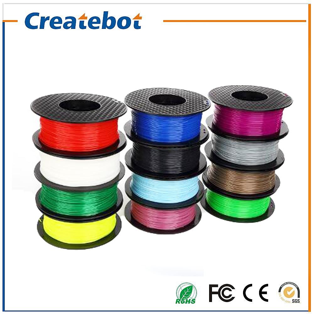 PLA Filament 1.75mm 3D Printer Filament 1kg Plastic Consumables Material various color for option rq wooden 3d printer filament pla 1 75mm 3d wood printing materials 1kg plastic rubber consumables material