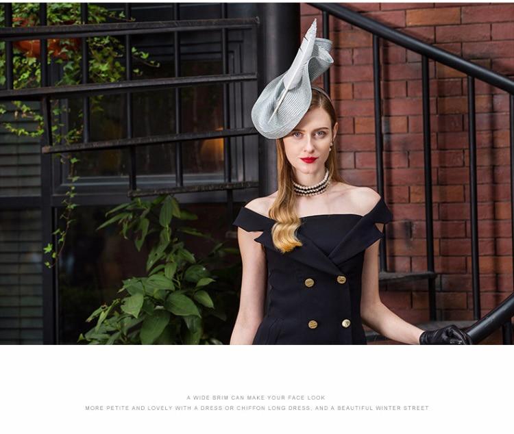 1_elegant wedding hats and fascinators