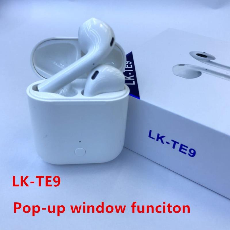 Lk-te9 TWS contrôle tactile sans fil écouteurs Bluetooth 5.0 Super basse écouteur Pk I9s I11 I12 I10 Tws pour IPhone Android Air Pods