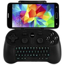 Cool Wireless Bluetooth 3.0 Gamepad With Keyboard Excellent Gift Present For Friend Family For Samsung Tablet PC Free Shipping(China)