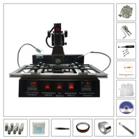 LY M770 Infrared BGA Rework Station 220V 2 Zones With BGA Reballing Kit Solder Ball 810pcs