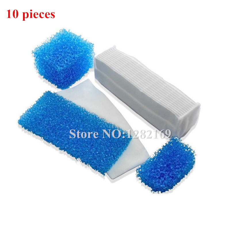 10 pieces Vacuum Cleaner HEPA Filters 787203 Twin/Genius Kit Vacuum Cleaner Parts For Thomas Twin Aquafilte hepa фильтр к пылесосу thomas в одессе