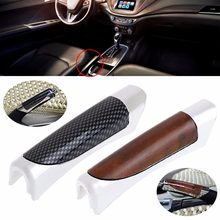 New Arrive Car Carbon Fiber Style E Hand Brake Break Universal Protector Decoration Cover(China)