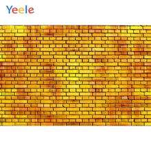 Yeele Wallpaper Old Yellowing Bricks Grunge Retro Photography Backdrop Personalized Photographic Background For Photo Studio