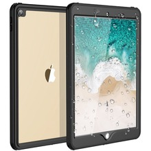 Waterproof Case For iPad Pro 10.5 inch Waterproof Shockproof Dustproof Anti-scratch For iPad 10.5 Cover Skin Black цена