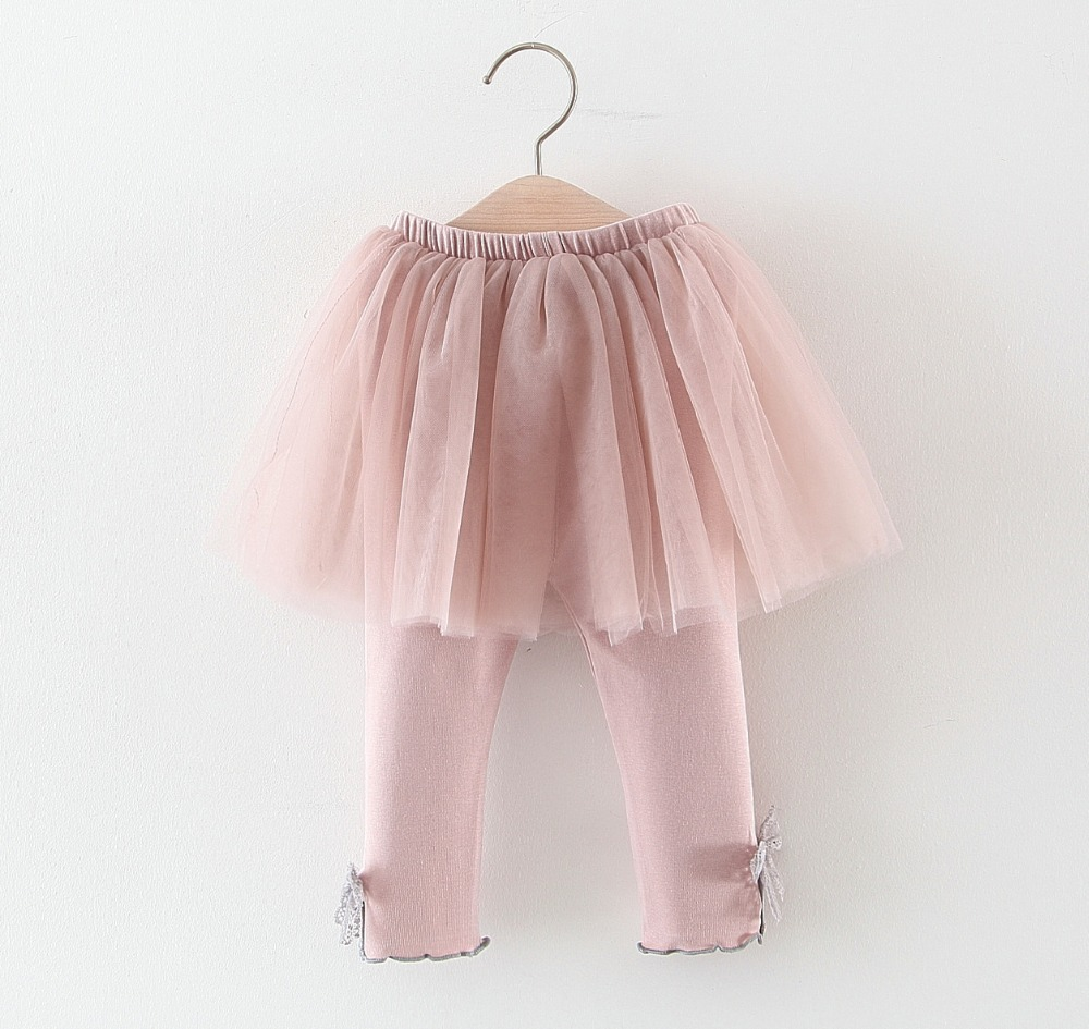 Baby Girls Skirts Leggings kids Gauze Pants Party Bow pants