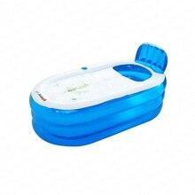 Домашняя утолщенная надувная ванна для взрослых, Складная Ванна бочка, Детская ванна, пластиковая Ванна для ванной, ванна для взрослых
