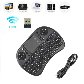 iPazzport Israel Hebrew arabic Multi-touch i8 mini keyboard 2.4GHz wireless Gaming keysboards air mouse for PC Laptop Tablet