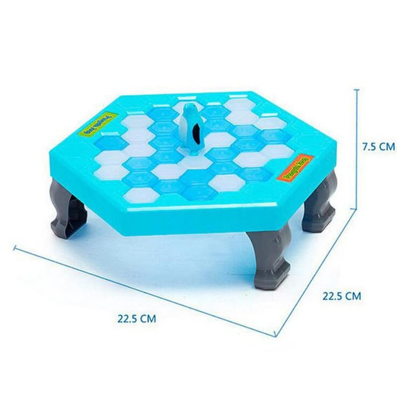 Мини-ловушка пингвина активировать забавные игры интерактивные изделия для крошения льда Настольный Пингвин ловушка развлекательная игрушка для детей дробилка для льда игра