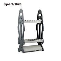 SPORTSHUB wędki stojak wystawowy pręty półka do przechowywania uchwyt stojak wspieranie narzędzia sprzęt wędkarski FT0087 w Wędki od Sport i rozrywka na