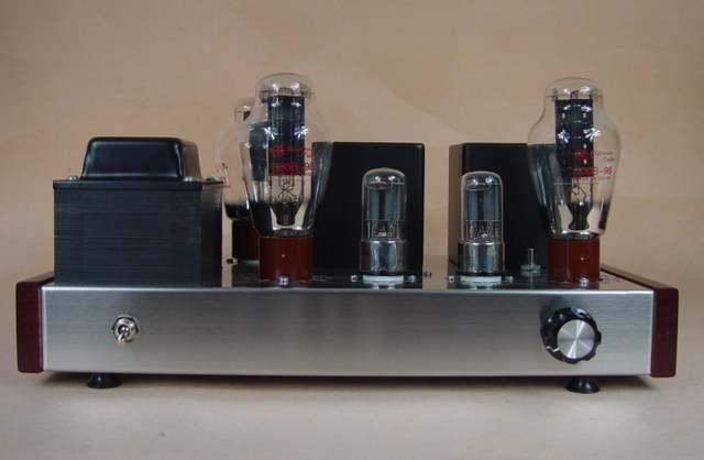 Douk audio 6N8P+300B Directly heated triode HIFI Tube amp amplifier DIY KIT  7W*2