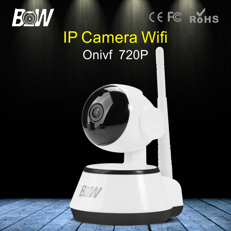 BW HD Onvif Wireless IP Camera Wi-Fi Motion Detect Alarm Security Surveillance Camera 720P Night Vision IP Camera WiFi wifi surveillance camera ip onvif infrared motion sensor alarm security remote control network wireless ip camera wi fi