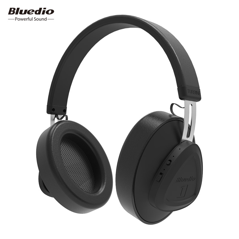 Bluedio TMS draadloze hoofdtelefoon met microfoon monitor studio bluetooth headset voice control voor muziek en telefoons