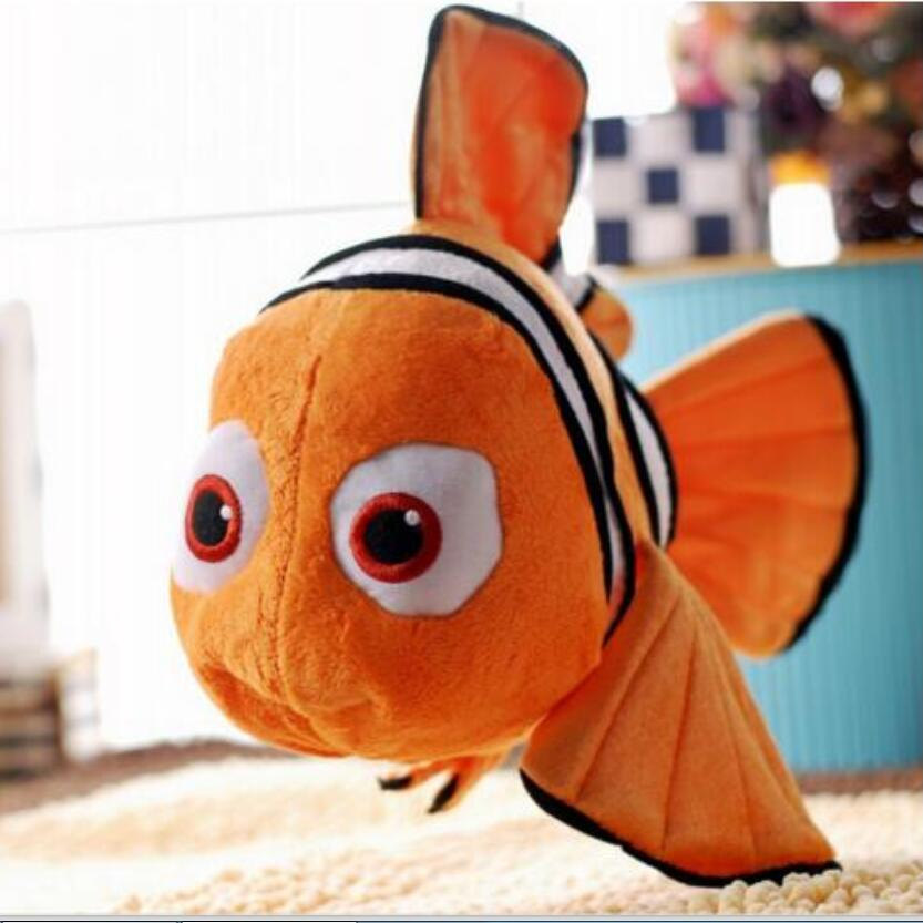 Finding Nemo 1pcs 9 23cm Movie Cute Clown Fish Stuffed Animal Soft Plush Toy Plush Doll Baby Toy Free Shipping stuffed animal 44 cm plush standing cow toy simulation dairy cattle doll great gift w501