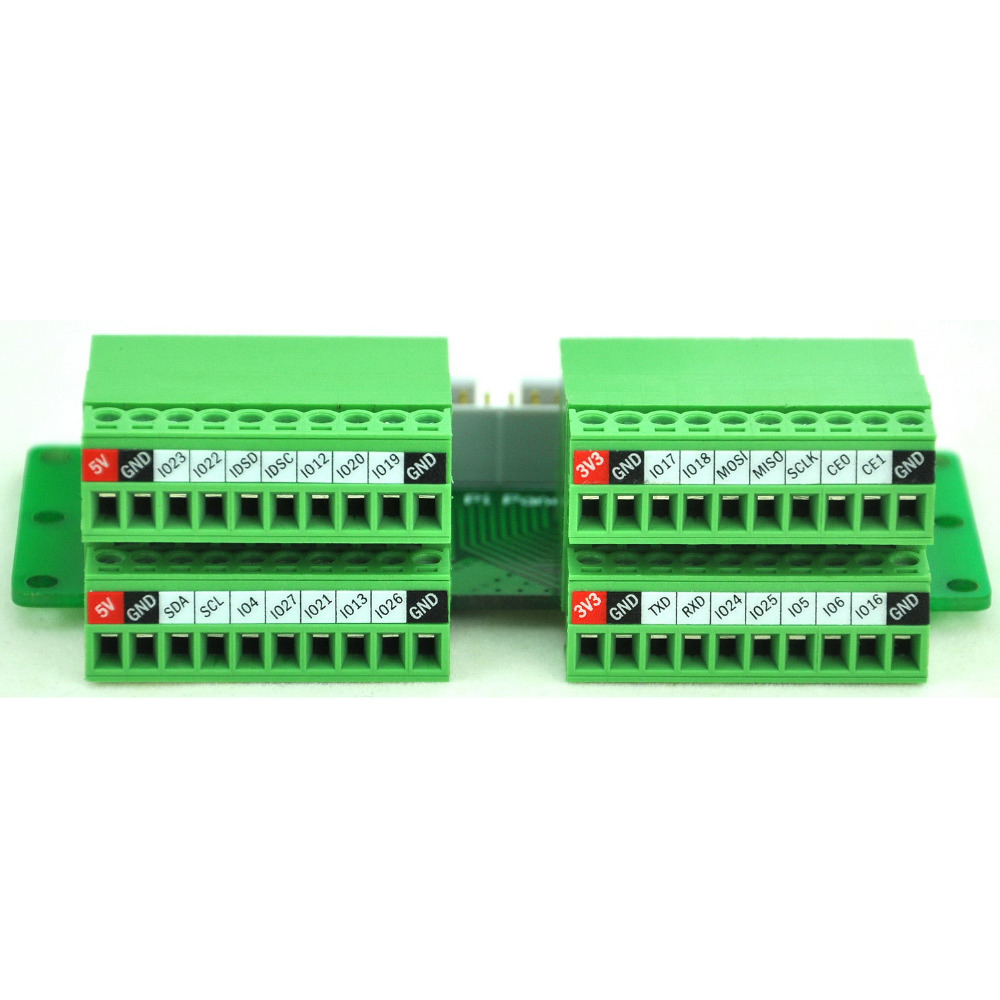 10 Set 381mm Screw Pluggable Terminal Blocks Connector Kf15cdgv Cat5 Network Wiring Diagrams Http Wwwabacusposcom Networkwiring Pi Panel Mount Block Breakout Module For Raspberry