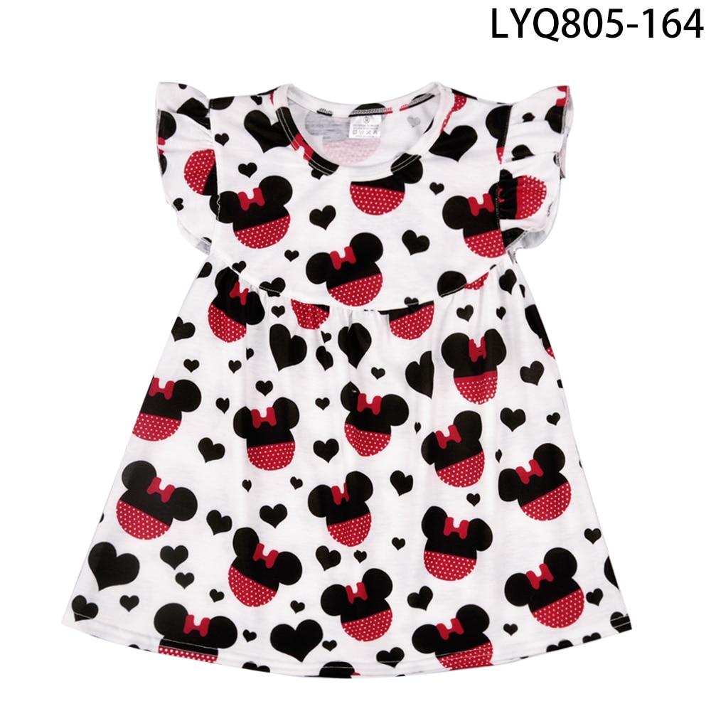 Augstas kvalitātes Boutique pārtaisīt kleitu modes flutter - Bērnu apģērbi