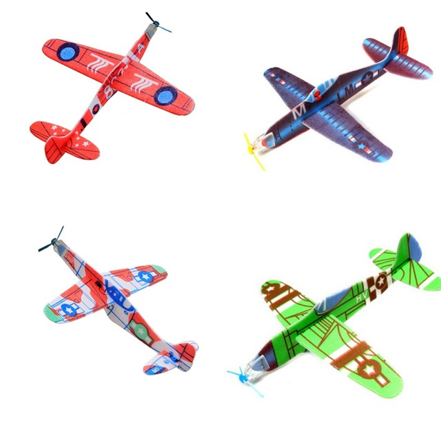 04a766096f US $0.57 16% OFF|3Pcs /Lot DIY Assembly Flapping Wing Flight For Children  Flying Kite Paper Airplane Model Imitate Birds Aircraft For Boy's Gift-in  ...