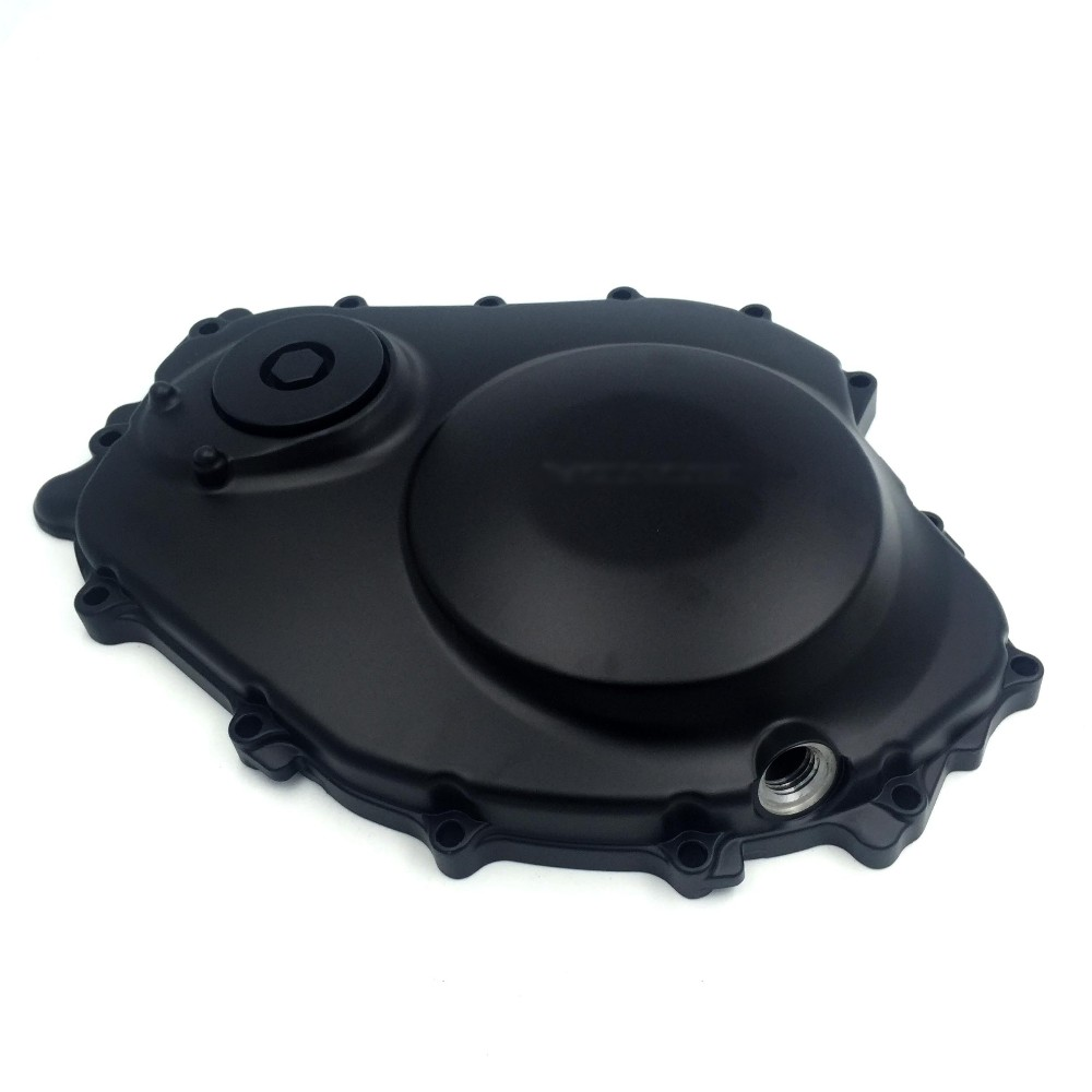 Aftermarket free shipping motorcycle accessories Engine Clutch cover for Honda CBR1000RR 2004-2007 04-07 BLACK Right side aftermarket free shipping motorcycle parts brake clutch hand lever for honda cbr1000rr cbr 1000 2004 2005 2006 2007 carbon