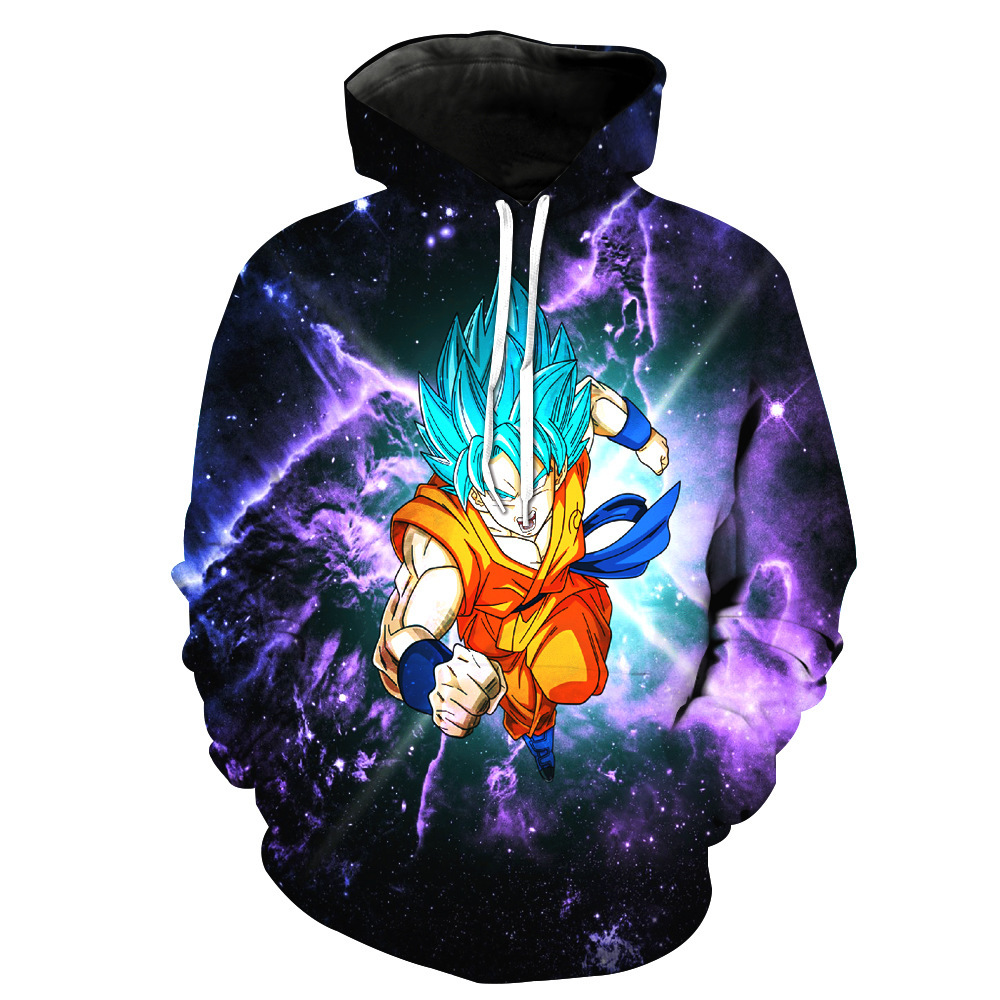 Sondirane Fashion Men/Women Clothing 3D Print Cool Cartoon Dragon Ball Z Hoodies Casual Hip Hop Sweats Tops Tracksuit Pullovers