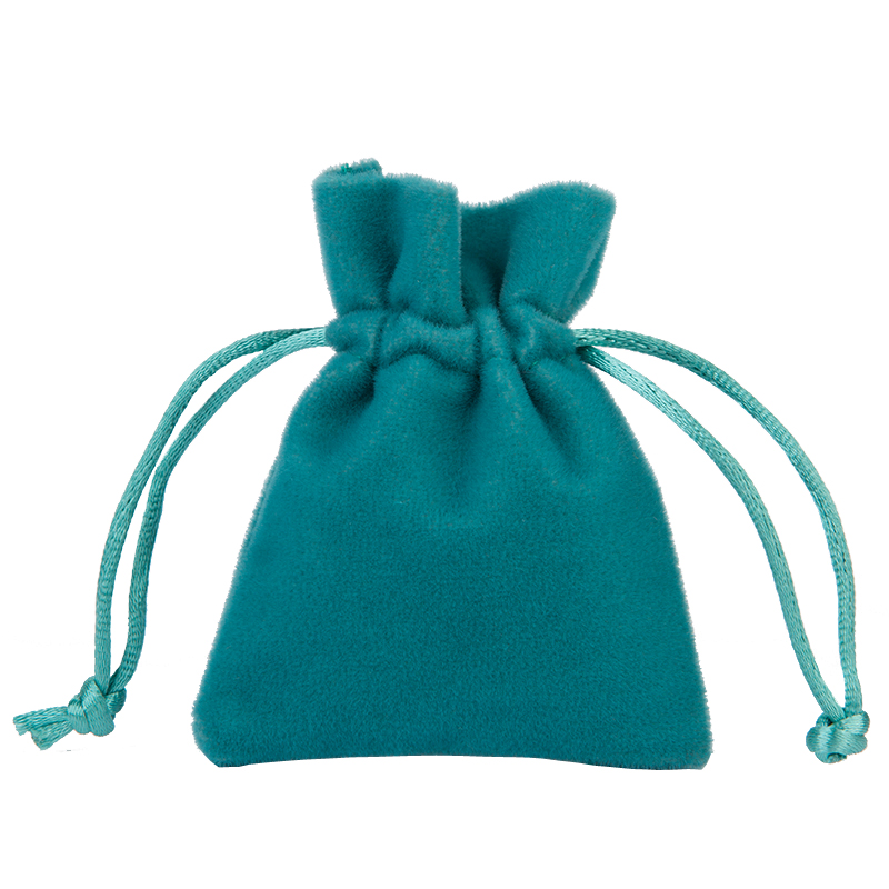 Free Shipping wholesale Green Color 9*12cm Thickening Soft Velvet Drawstring Pouch Bag/Jewelry Bag,Christmas/Wedding Gift Bag