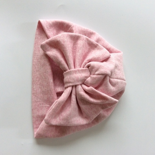 b85215d5dc8 Baby Cap Cotton Bow Hat For Baby Girls 2 Layer India Hat Kids Beanie Baby  Hats Caps