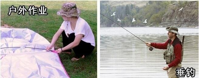 Bonés de pesca