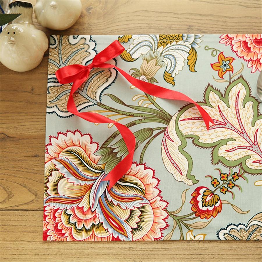 كبير زهرة الكتان القماش والمناديل - منسوجات منزلية