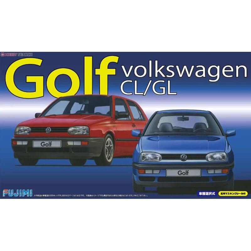 Fujimi 12639# 1/24 Scale Model Car Kit RS-27 VW MK3 Golf CL or GL1/24 Scale KIT plastic model kit revell model 1 25 scale 85 7457 69 camaro z 28 rs plastic model kit