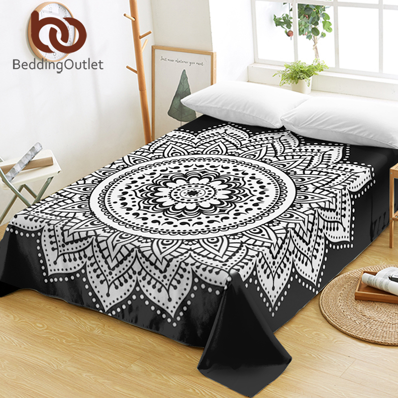 Bed Sheets Fl Pattern Flat Sheet