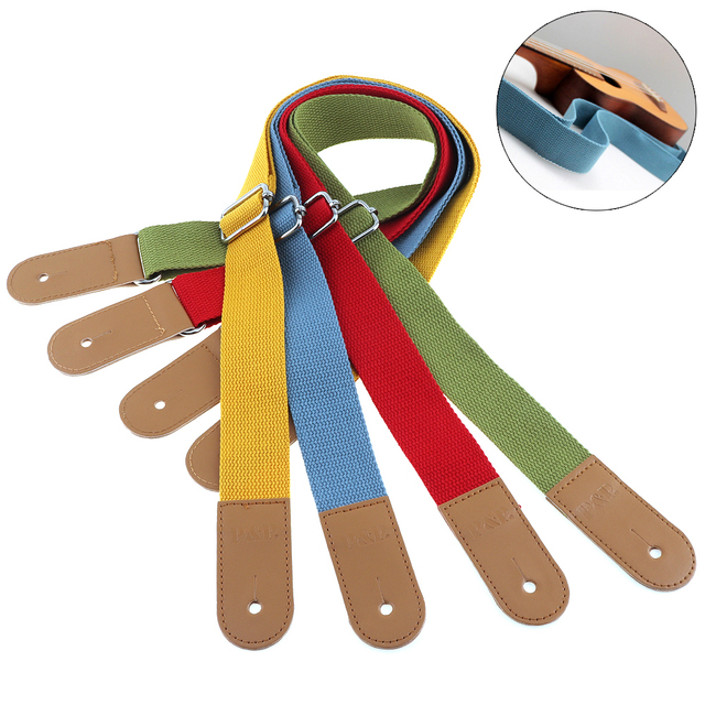 Adjustable Pure Cotton Ukulele Straps