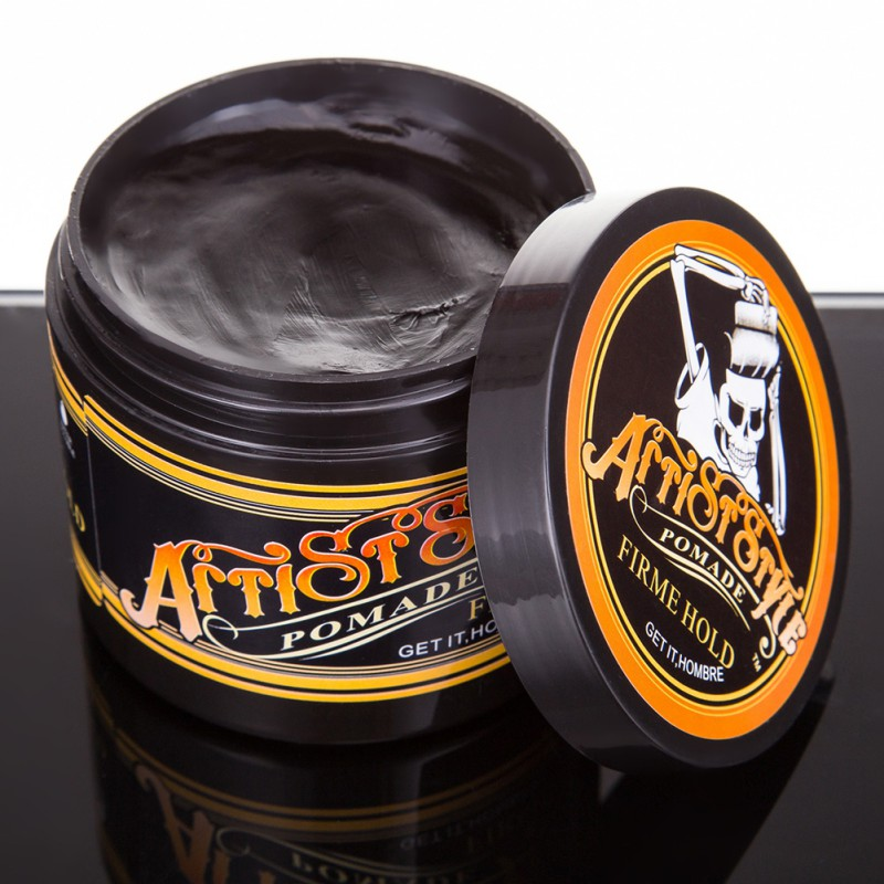Natural Men Stereotypes Hair Wax Strong Long Lasting Fluffy Hair Wax Professional Fashion Hair Mud Pomade For Salon Hairstyle