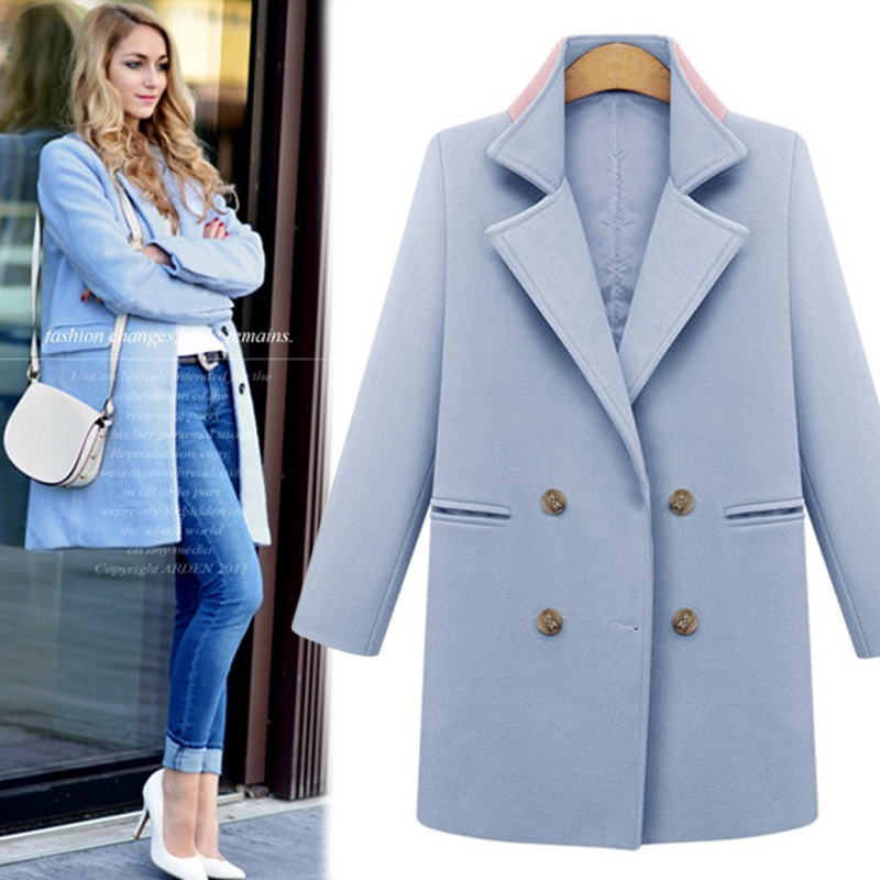 Shop online for women's wool & wool blend coats at celebtubesnews.ml Browse our selection of double-breasted coats, blazers, trenches and more. Free shipping and returns.