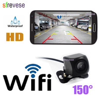 Wireless WIFI Mini Car Rear View Reversing Backup Camera Dash Cam Star Night Vision Tachograph for iPhone and Android ios