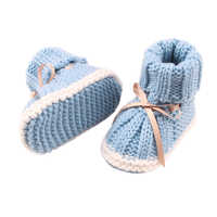 Baby Shoes For Newborns Soft Soled First Walkers Winter Warm Infant Boy Walking Shoes Autumn Girls Prewalker Footwear Cute 0-24M