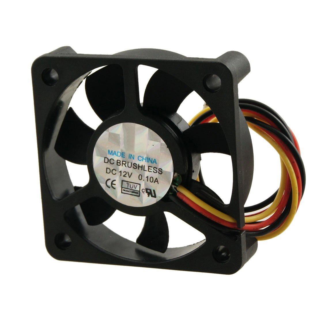 1x 12 V Refroidisseur Sans Balai Micro DC Fan 25*10mm Mini Refroidissement Ordinateur Portable Ventilateur