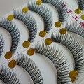Hot! Handmade Cílios Postiços Algodão Natural Grosso Cílios Terrier E-5 Naturais Maquiagem Nua Cruz Grossa Cílios Postiços