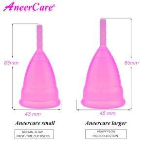 Image 5 - 100pcs קופה menstruelle menstruatie כוס copa וסת aneercare coletor mestrual וסת כוס copas menstruales silicona