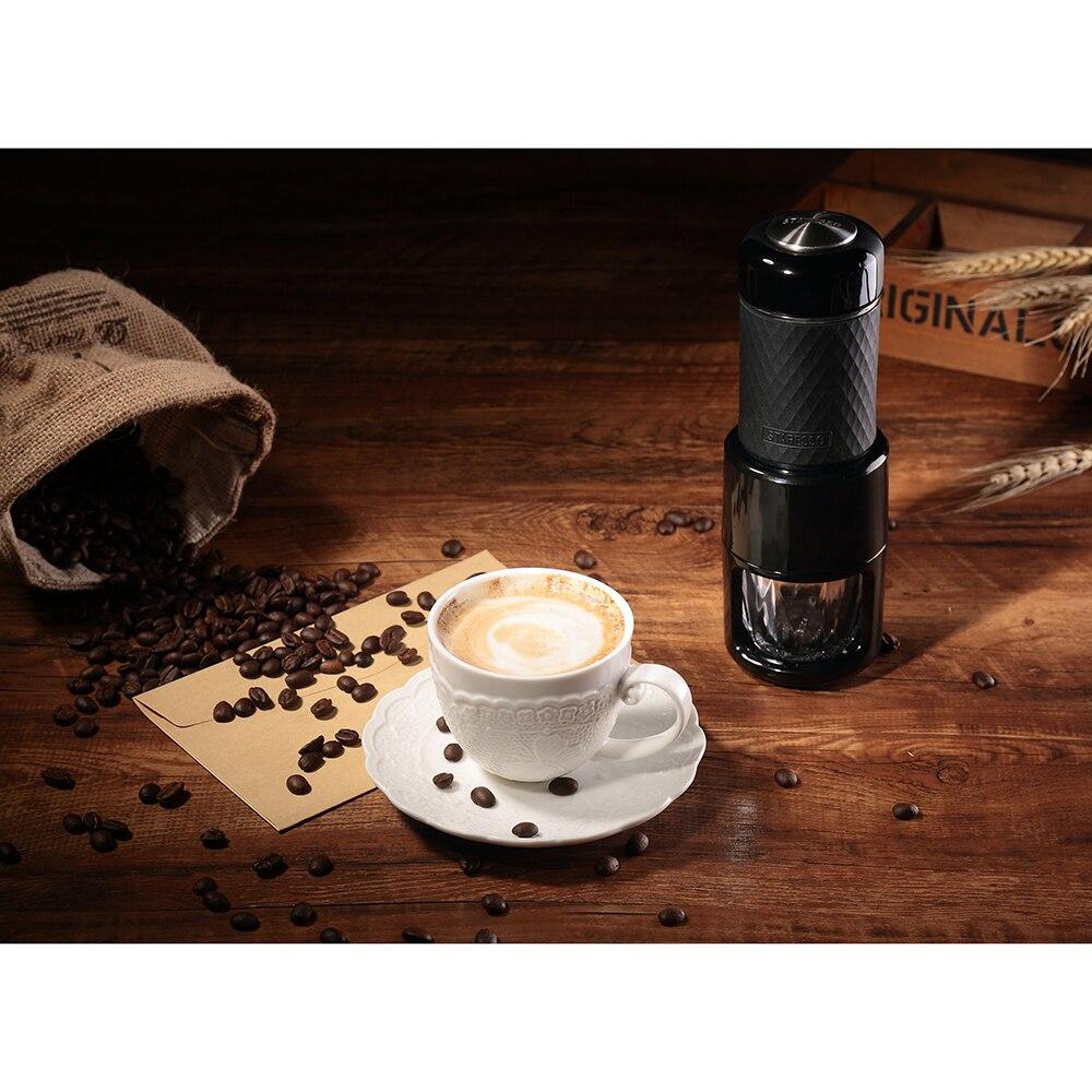 STARESSO multi funktion kaffee Maker hand Kaffee maschine SP 200 Schwarz Neue manuelle kaffeemühle cafe hohe qualität freies verschiffen-in Manuelle Kaffeemühlen aus Heim und Garten bei  Gruppe 3