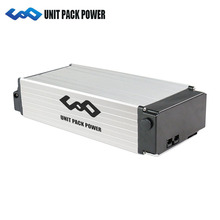 36V 48V 52V ebike rack battery 10ah 15ah 20Ah 25ah 28ah lithium ion battery Pack for 350w 500W 750w 1000w 1500w Electric bicycle